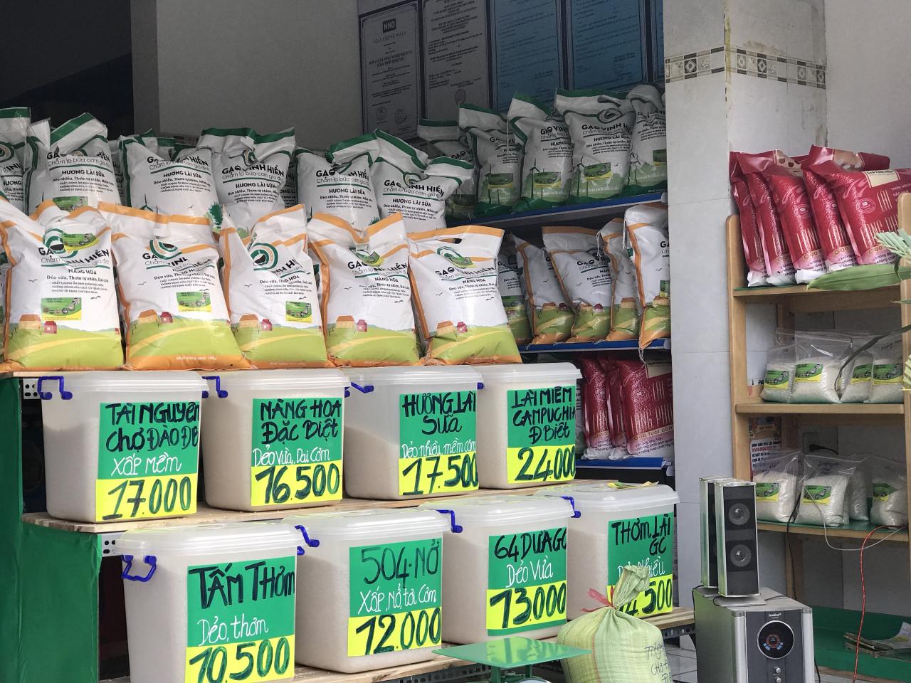Đại lý gạo Bình Dương - gạo Vinh Hiển