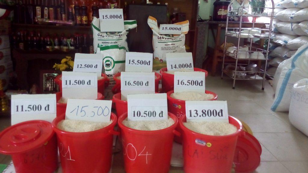 Tìm nguồn cung cấp gạo- Đại lý gạo Hoàng Hà- Hàn Thuyên Đà Lạt.