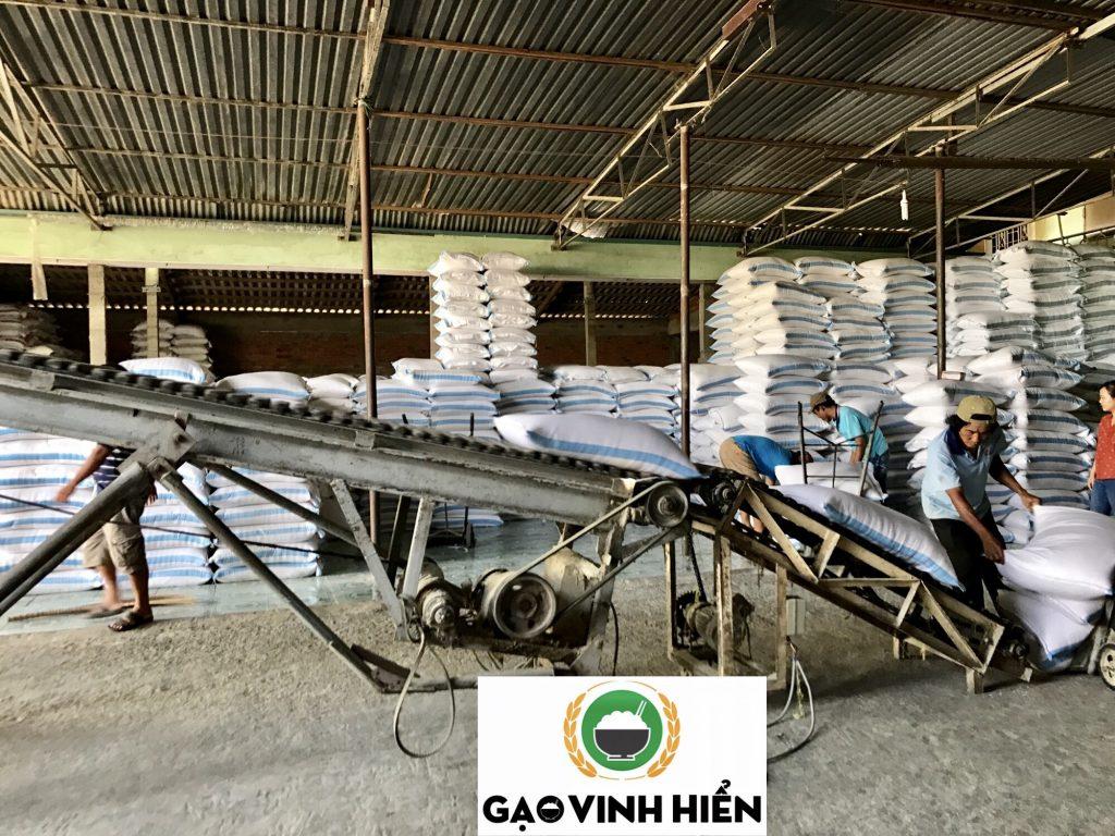 nhà máy gạo Vinh Hiển
