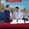 Nhà máy gạo Vinh Hiển kí hợp tác cánh đồng mẫu lớn tỉnh Tiền Giang