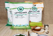 Sản phẩm gạo an toàn đóng túi Vinh Hiển