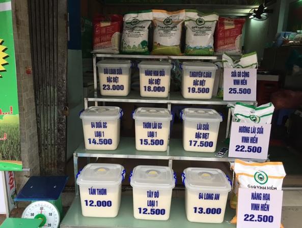 thuế mở cửa hàng gạo