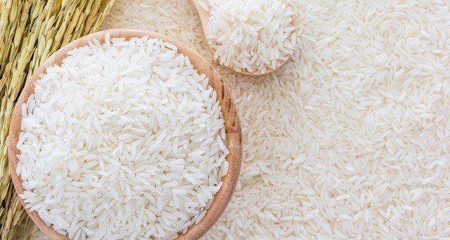 Gạo Jasmine sau khi được đánh bóng gạo