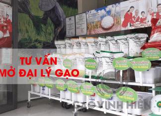 các bước mở đại lý gạo