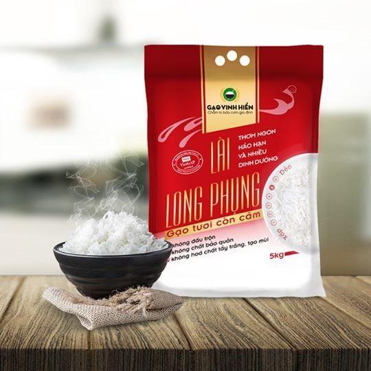 Gạo còn cám Lài Long Phụng
