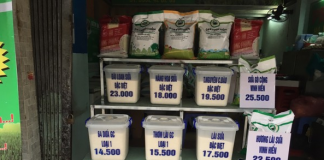 Tối ưu hoá lợi nhuận cho cửa hàng gạo