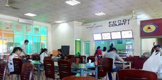 trường học, bệnh viện