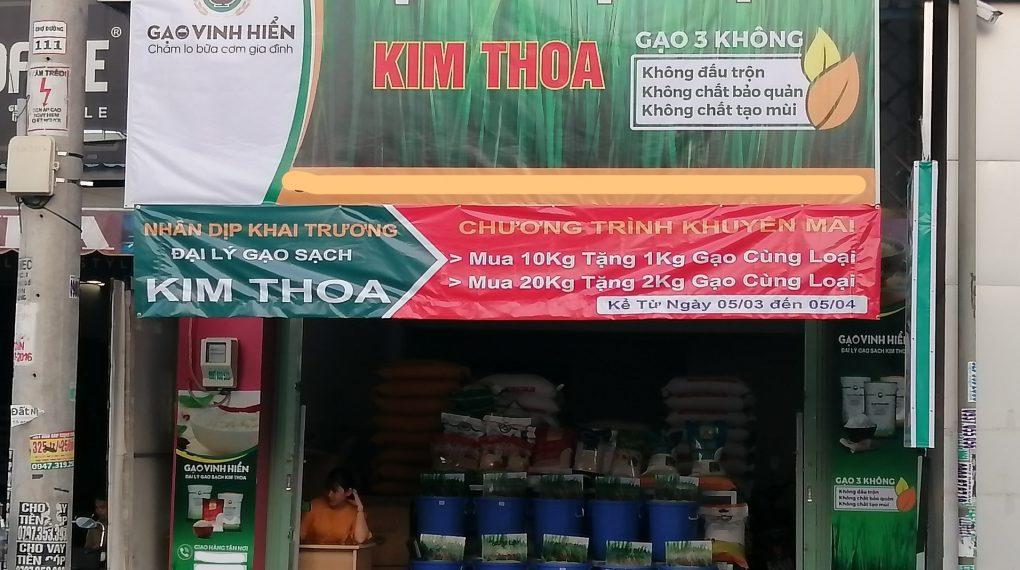 loại hình khuyến mãi của Đại lý gạo Kim Thoa