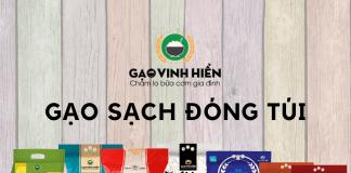 kênh kinh doanh gạo đóng túi Vinh Hiển