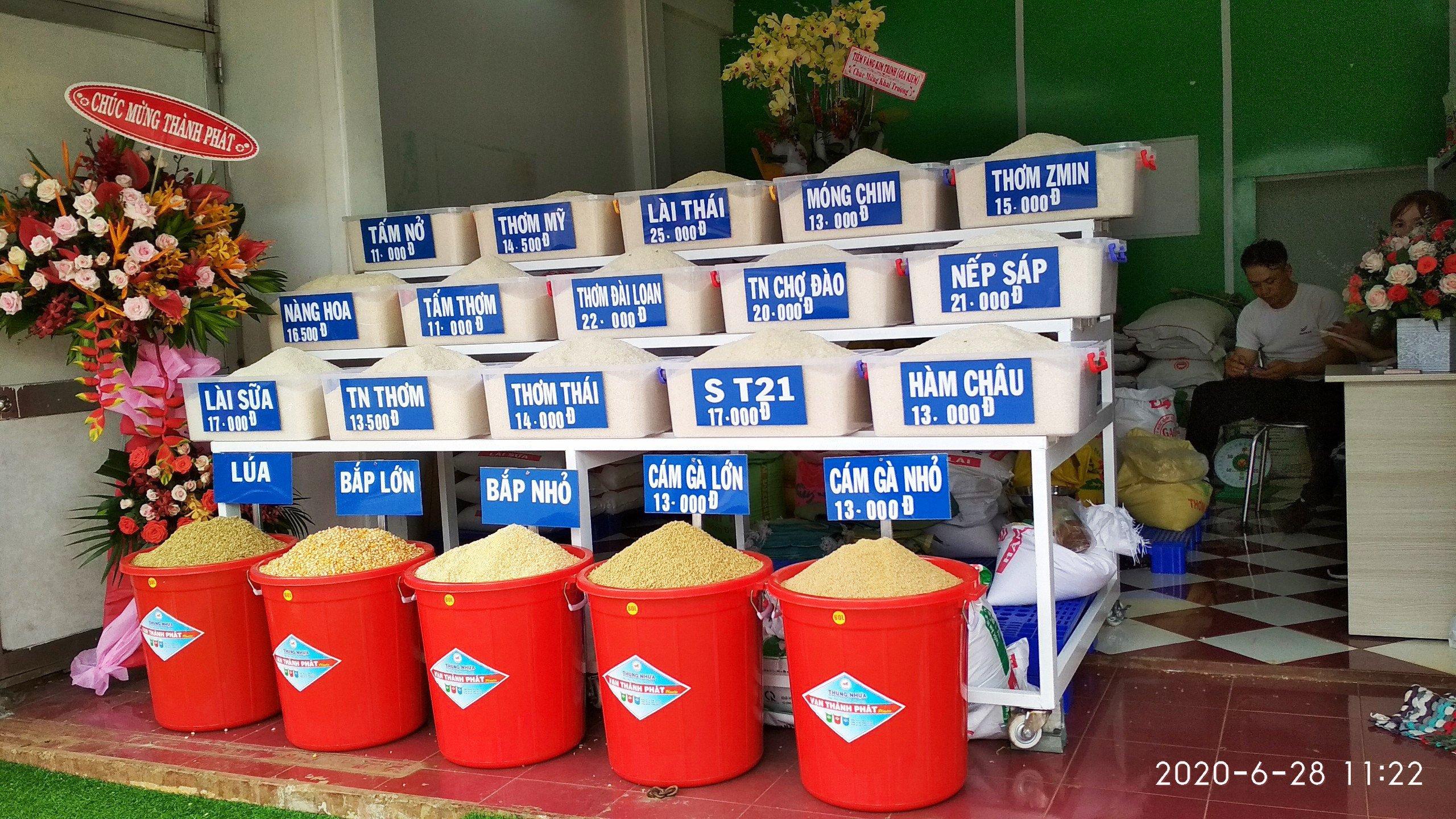 Các sản phẩm tại Đại lý gạo sạch Thành Phát khu vực Long Khánh Đồng Nai;