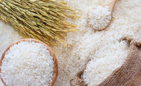 gạo tẩy trắng, tạo mùi