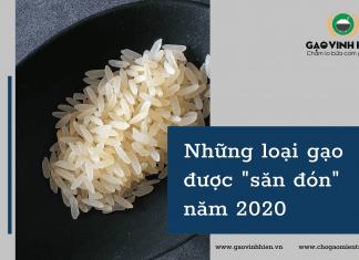 """Những loại gạo được """"săn đón"""" năm 2020"""