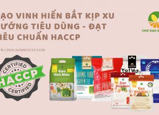 Gạo Vinh Hiển đạt tiêu chuẩn chất lượng HACCP