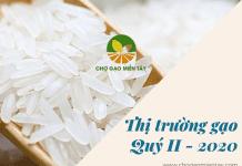 thị trường gạo Quý II -2020