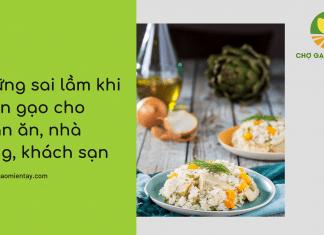 Cung cấp gạo cho nhà hàng, khách sạn, quán ăn