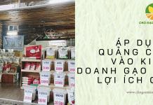 Áp dụng quảng cáo trong kinh doanh gạo