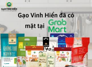 gạo Vinh Hiển đã có mặt tại GrabMart