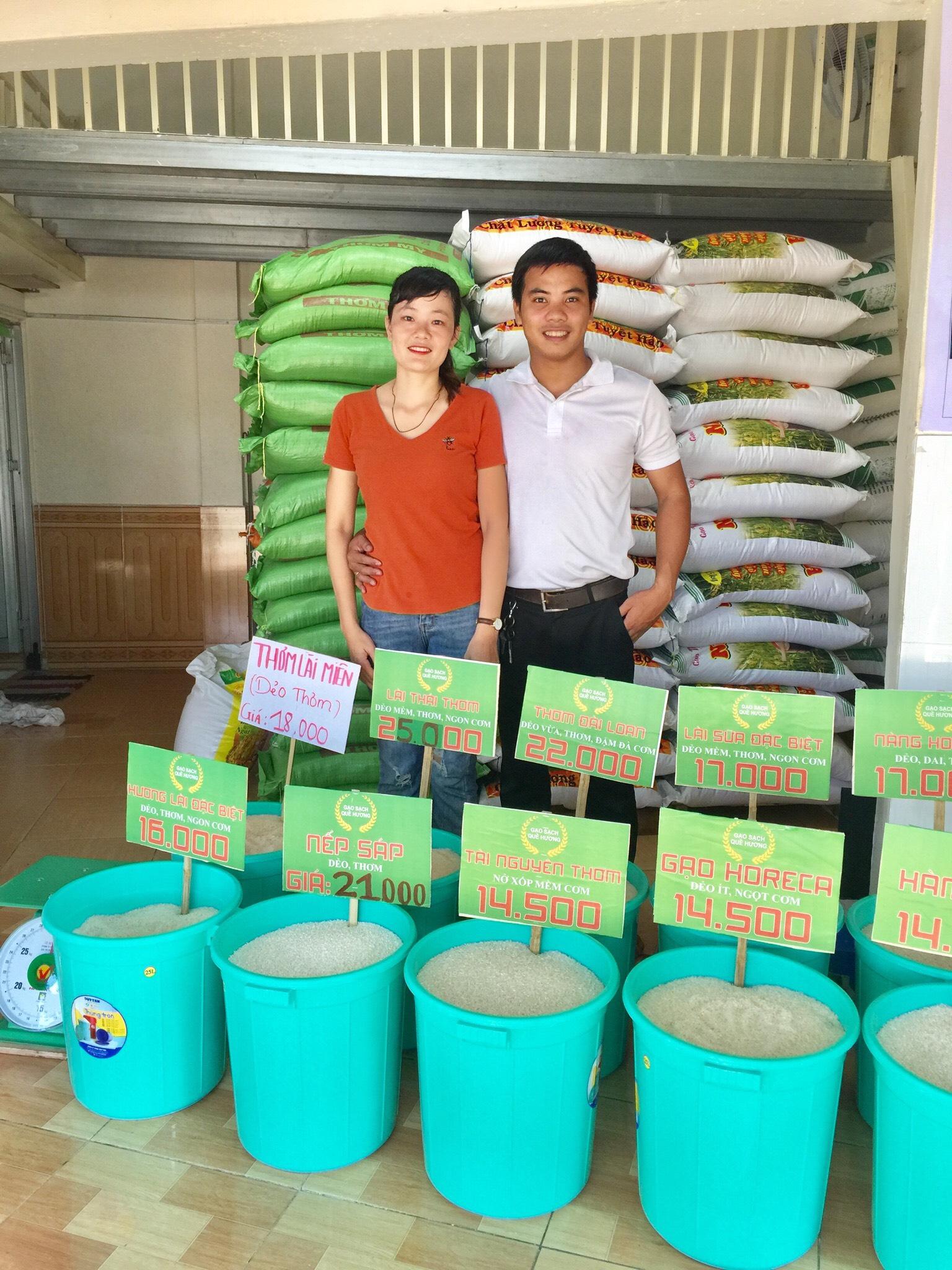 đại lý gạo quê hương