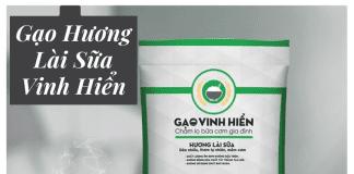 Gạo Hương Lài Sữa Vinh Hiển