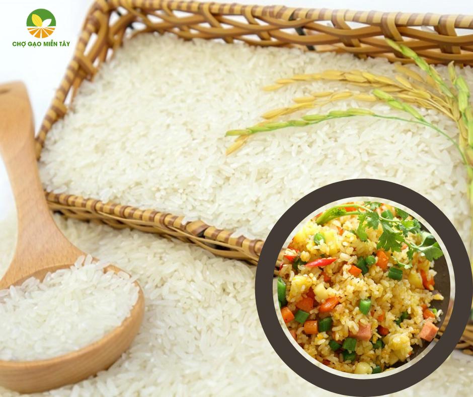 chọn gạo làm cơm chiên
